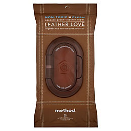 Method Leather Love Surface Wipes, Pack of 30