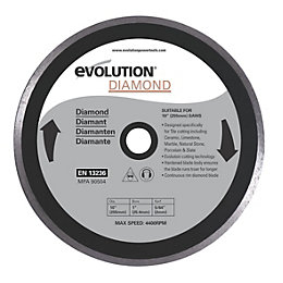 Evolution Fury (Dia)255mm Mitre Saw Blade