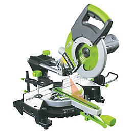 Evolution Fury 2000W 255mm Sliding Compound Mitre Saw
