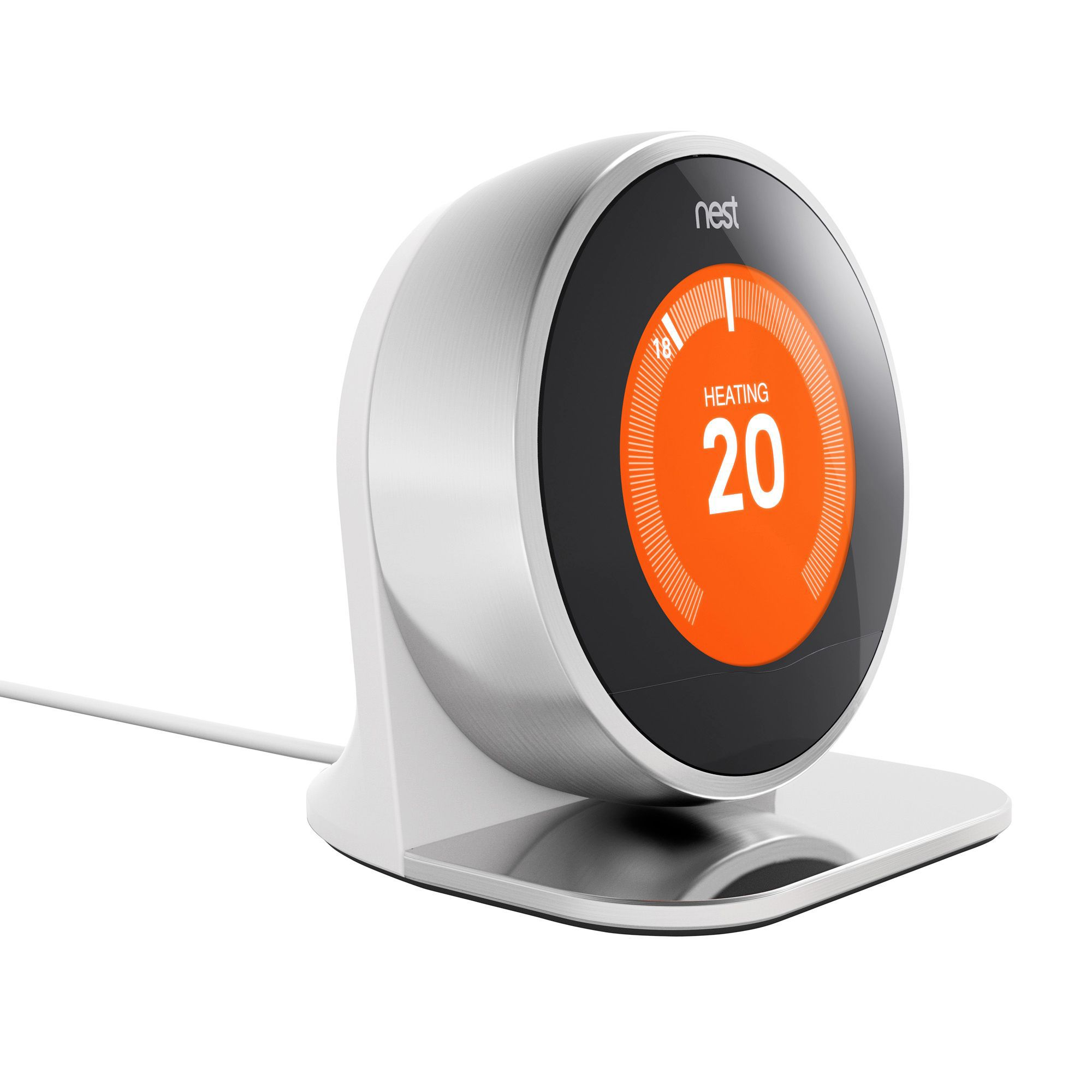 nest stand for learning thermostat 2nd generation. Black Bedroom Furniture Sets. Home Design Ideas