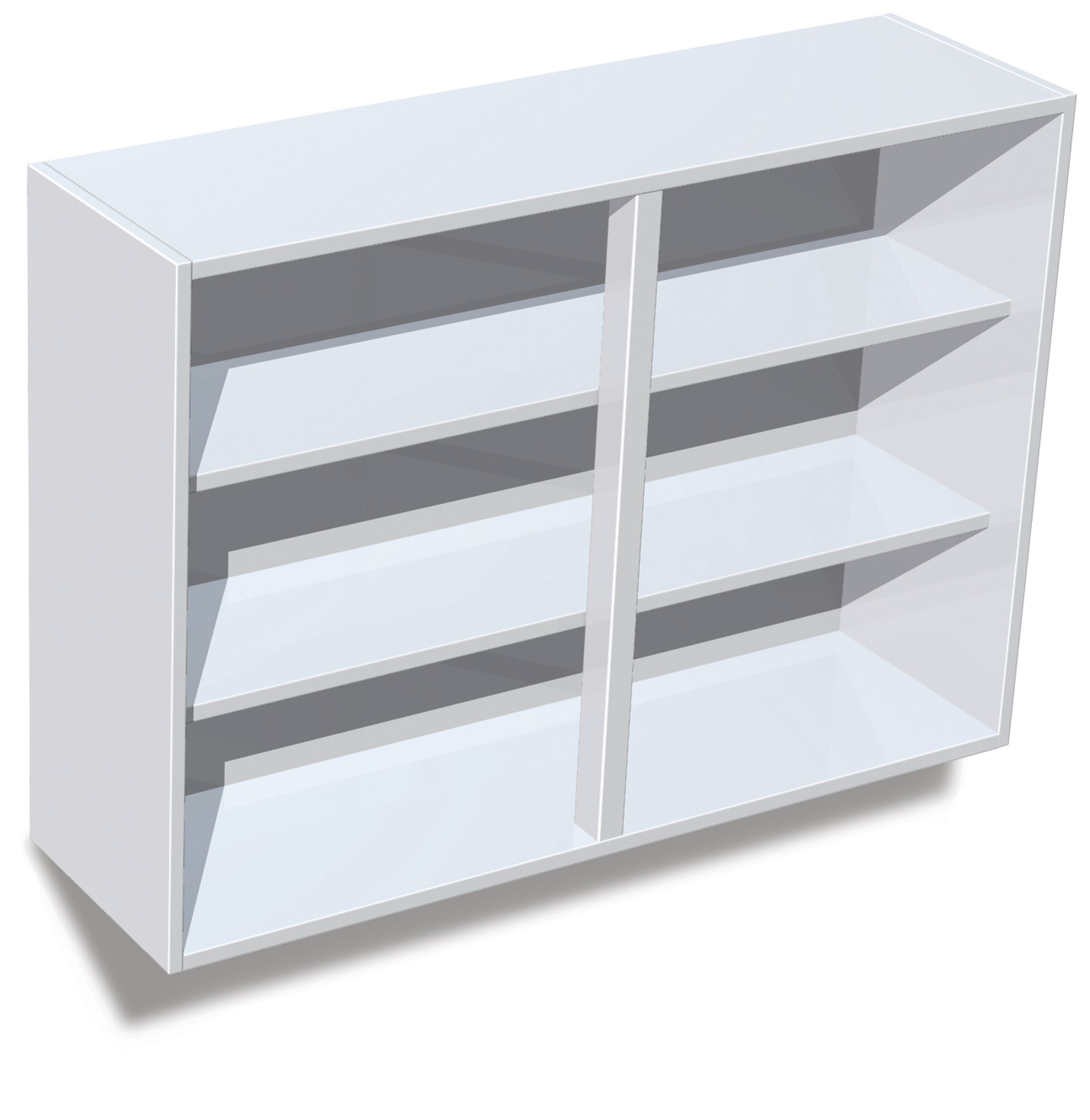IT Kitchens White Standard Wall Cabinet (H)720mm (W)1000mm