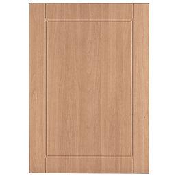 IT Kitchens Chilton Beech Effect Standard Door (W)500mm