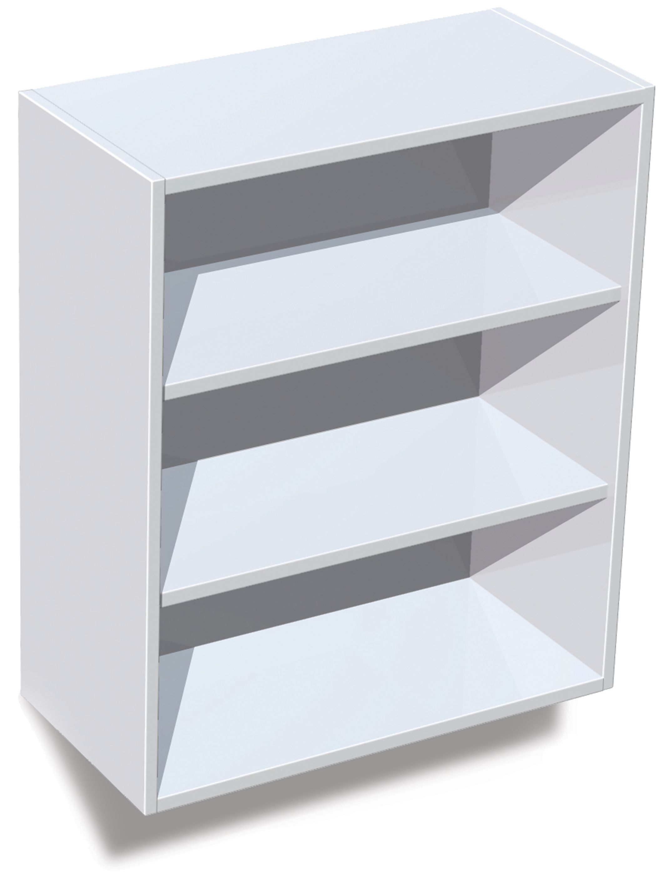 It Kitchens White Standard Wall Cabinet W 600mm