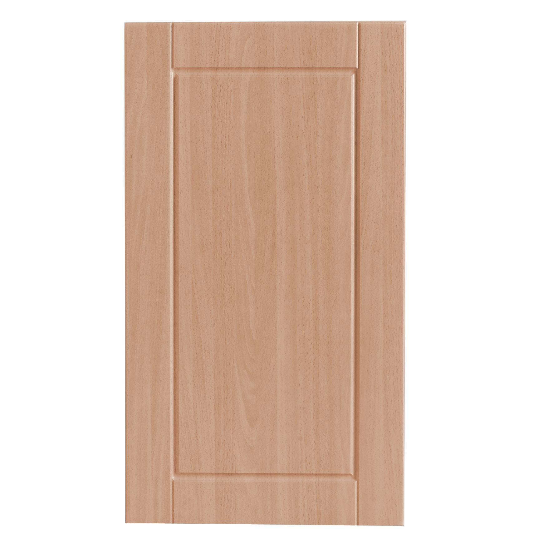 IT Kitchens Chilton Beech Effect Standard Door W 400mm Departments DIY A