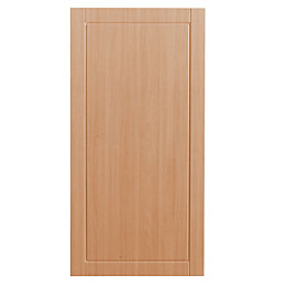 IT Kitchens Chilton Beech Effect Fridge Freezer Door
