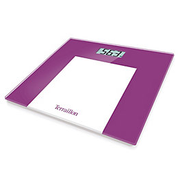 Terraillon Purple Slim Bathroom Scale