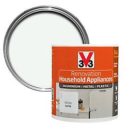 V33 Renovation White Smooth Satin Household Appliance Paint