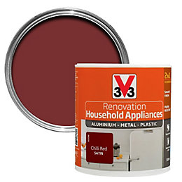 V33 Renovation Chilli Red Smooth Household Appliance Paint