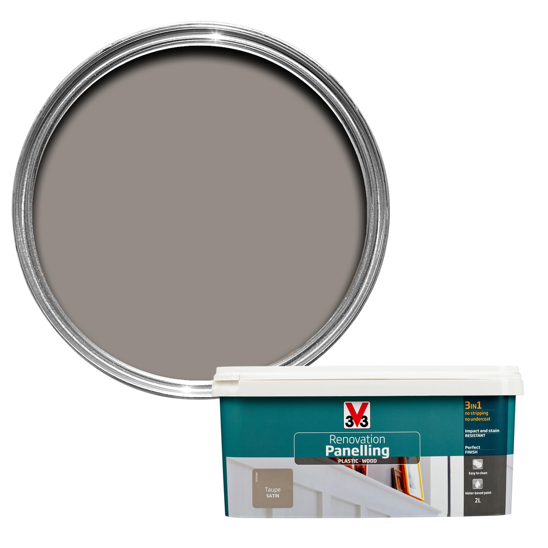 V Renovation Pebble Satin Wall Paint
