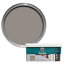V33 Renovation Taupe Satin Paneling Paint 2L