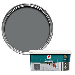 V33 Renovation Graphite Satin Paneling Paint 2L