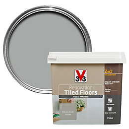 V33 Renovation Moondust Satin Floor Tile Paint 750ml