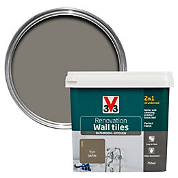 V33 Renovation Rye Satin Wall Tile Paint 750ml