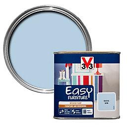 V33 Easy Blue Ice Satin Furniture Paint 500