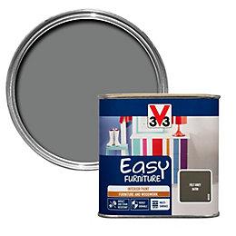 V33 Easy Felt Grey Satin Furniture Paint 500