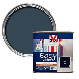 V33 Easy Petrol Furniture Paint 500ml