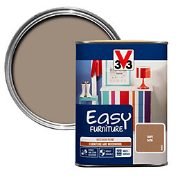 V33 Easy Taupe Satin Furniture Paint 1 L