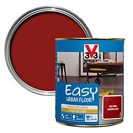 V33 Easy Red Fusion Lacquered Gloss Floor Varnish