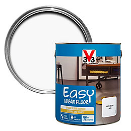V33 Easy White Cocoon Satin Floor Varnish 2.5L