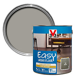 V33 Easy Zinc Metallic Floor Varnish 2.5L