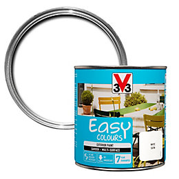V33 Easy White Satin Furniture Paint 500 ml