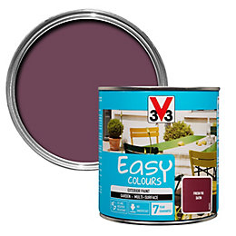 V33 Easy Fresh Fig Exterior Furniture Paint 500ml