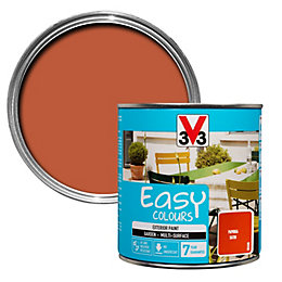 V33 Easy Paprika Exterior Furniture Paint 500ml