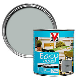V33 Easy Aluminium Metallic Furniture Paint 500 ml