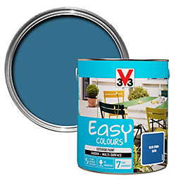 V33 Easy Blue Storm Satin Furniture Paint 2.5