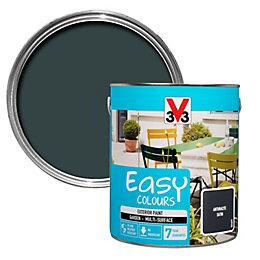 V33 Easy Anthracite Exterior Furniture Paint 2.5L