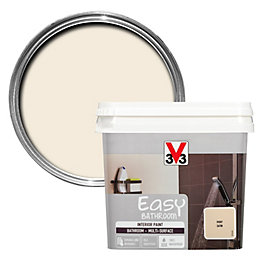 V33 Easy Ivory Satin Bathroom Paint 750ml