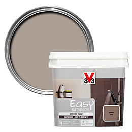V33 Easy Humus Satin Bathroom Paint 750ml