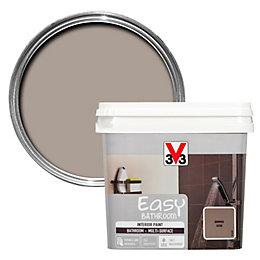 V33 Easy Humus Satin Bathroom Paint 750ml