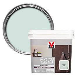 V33 Easy Sky Blue Satin Bathroom Paint 750ml