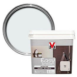 V33 Easy Pebble Satin Bathroom Paint 750ml