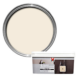 V33 Easy Ivory Satin Bathroom Paint 2.0L