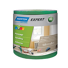 Norton 80 Medium Sandpaper Roll