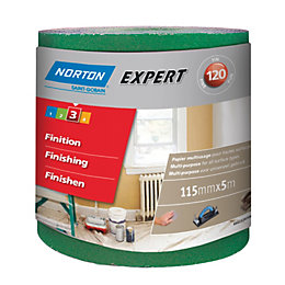 Norton 120 Fine Sandpaper Roll