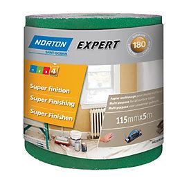Norton 180 Extra Fine Sandpaper Roll