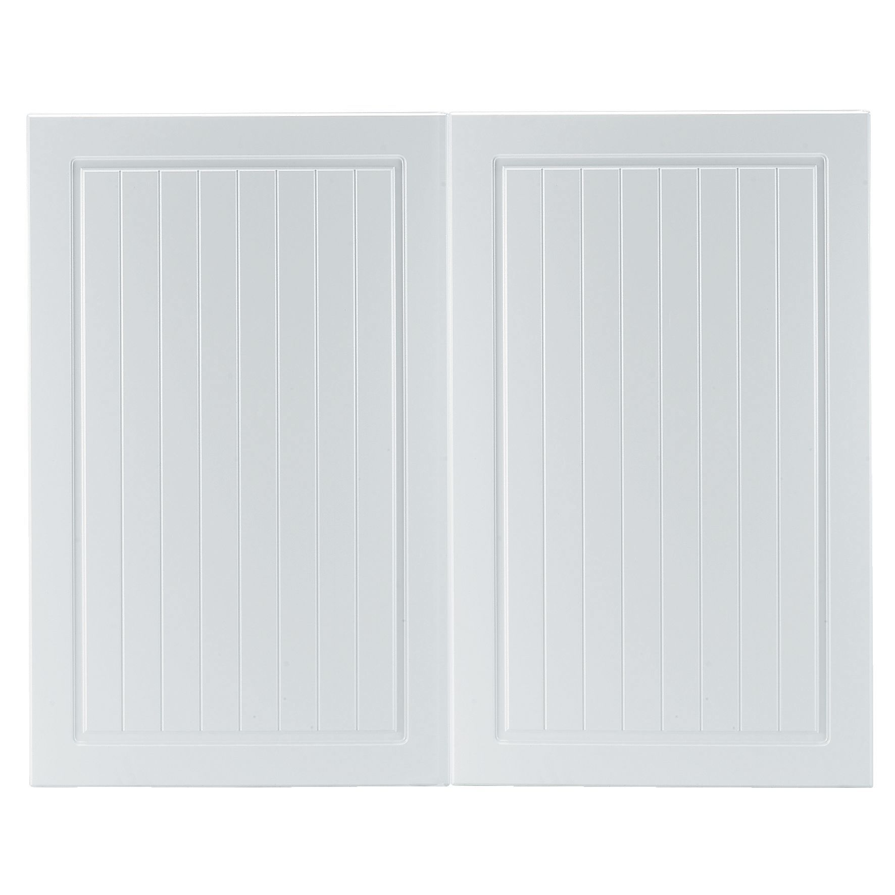 Bq It Kitchen Doors It Kitchens Chilton White Country Style Larder Door W600mm Set