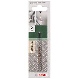 Bosch HSS Chisel Edge Drill Bit (Dia)2mm