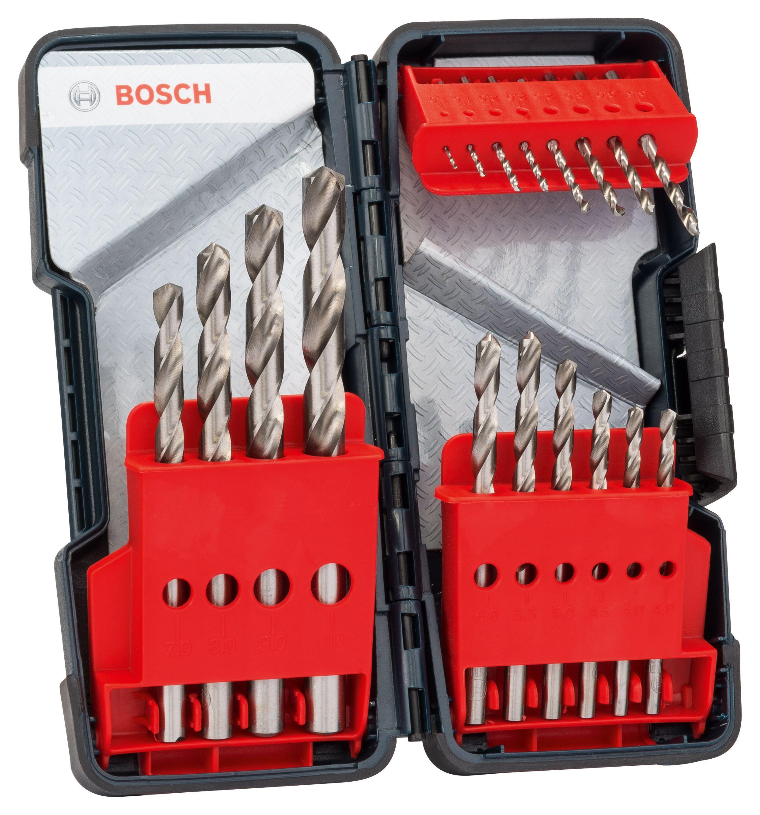 Bosch Metal Drill Bit Set, 18 Pieces