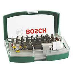 Bosch Assorted Screwdriver Bits, Pack of 32