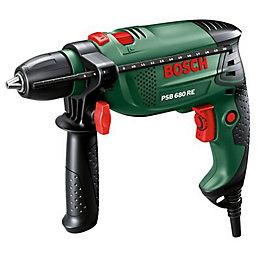 Bosch 680 W Corded Hammer Drill PSB680RE