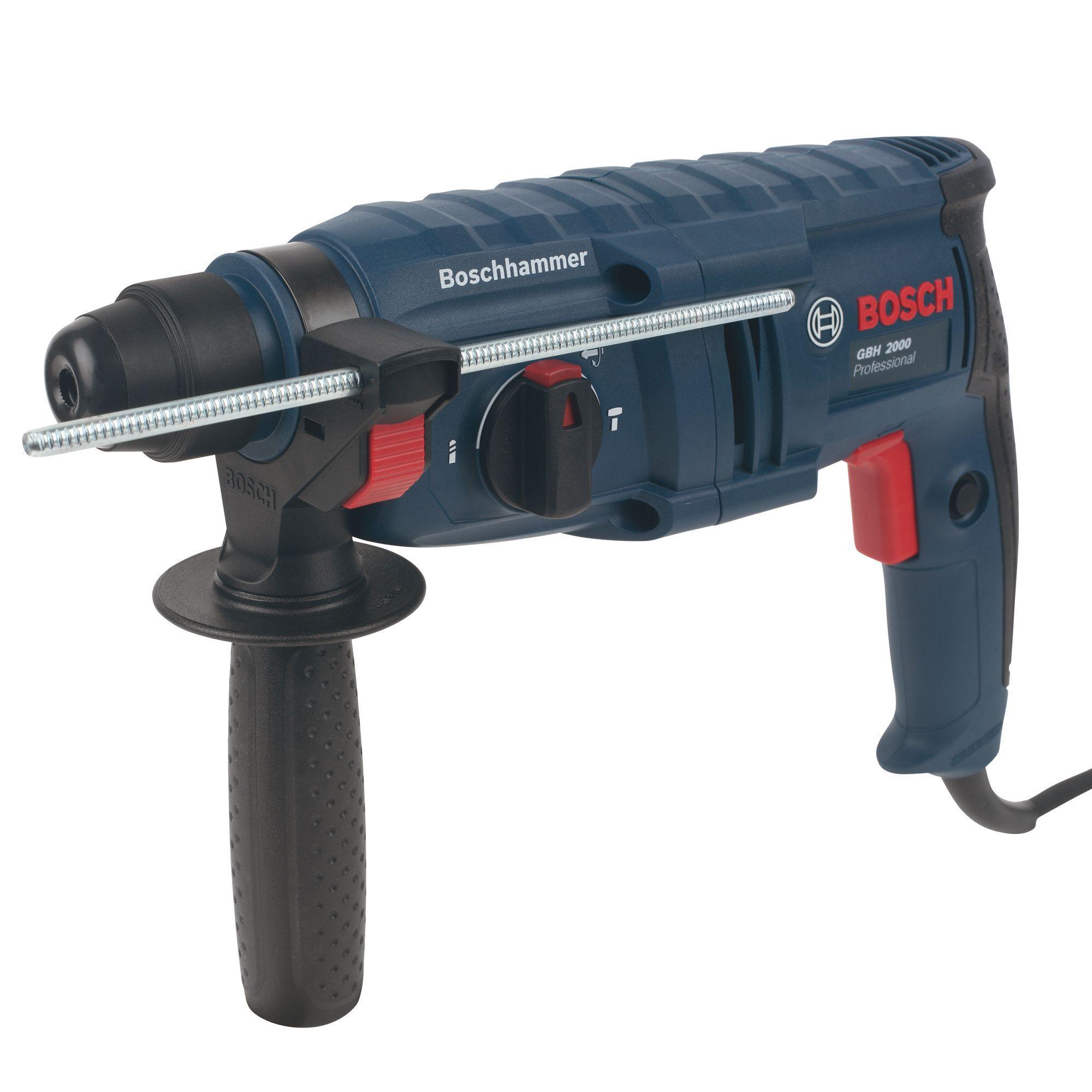bosch 620w 240v corded sds plus brushed hammer drill. Black Bedroom Furniture Sets. Home Design Ideas