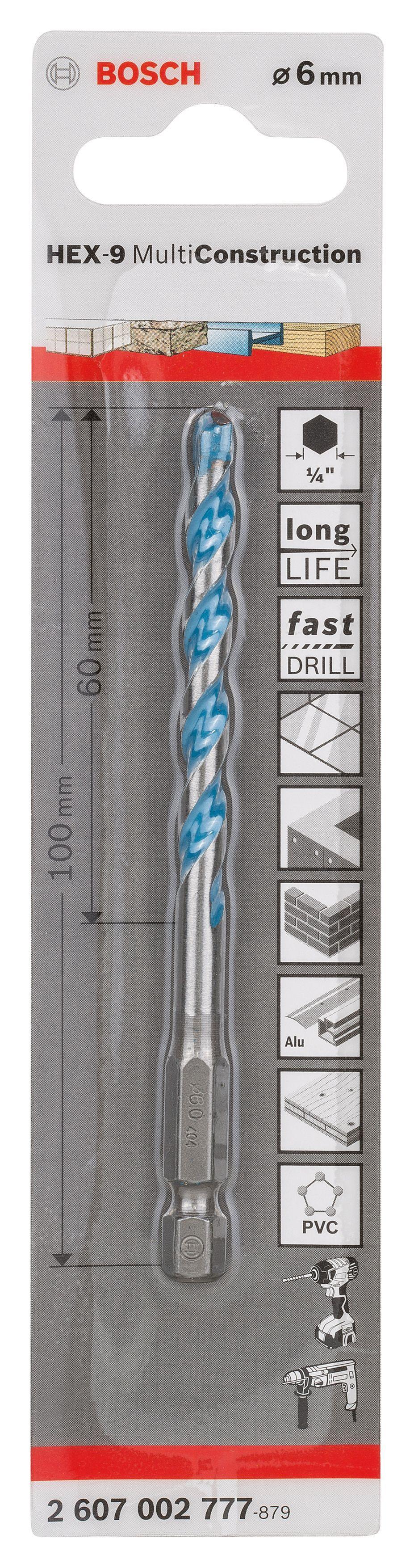 Bosch Drill Bit (dia)6mm