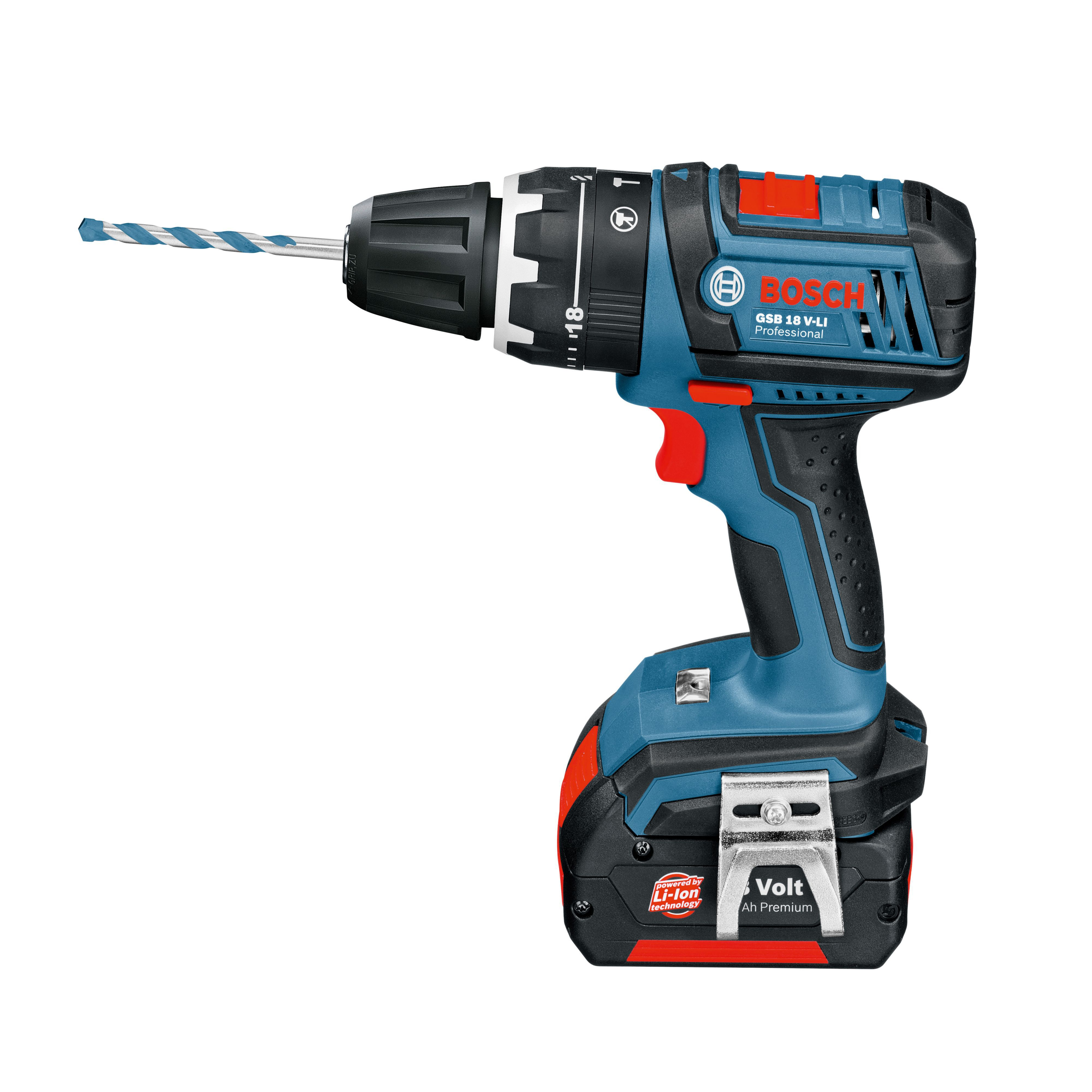 bosch dynamic series cordless 18v 1 5ah li ion combi drill. Black Bedroom Furniture Sets. Home Design Ideas