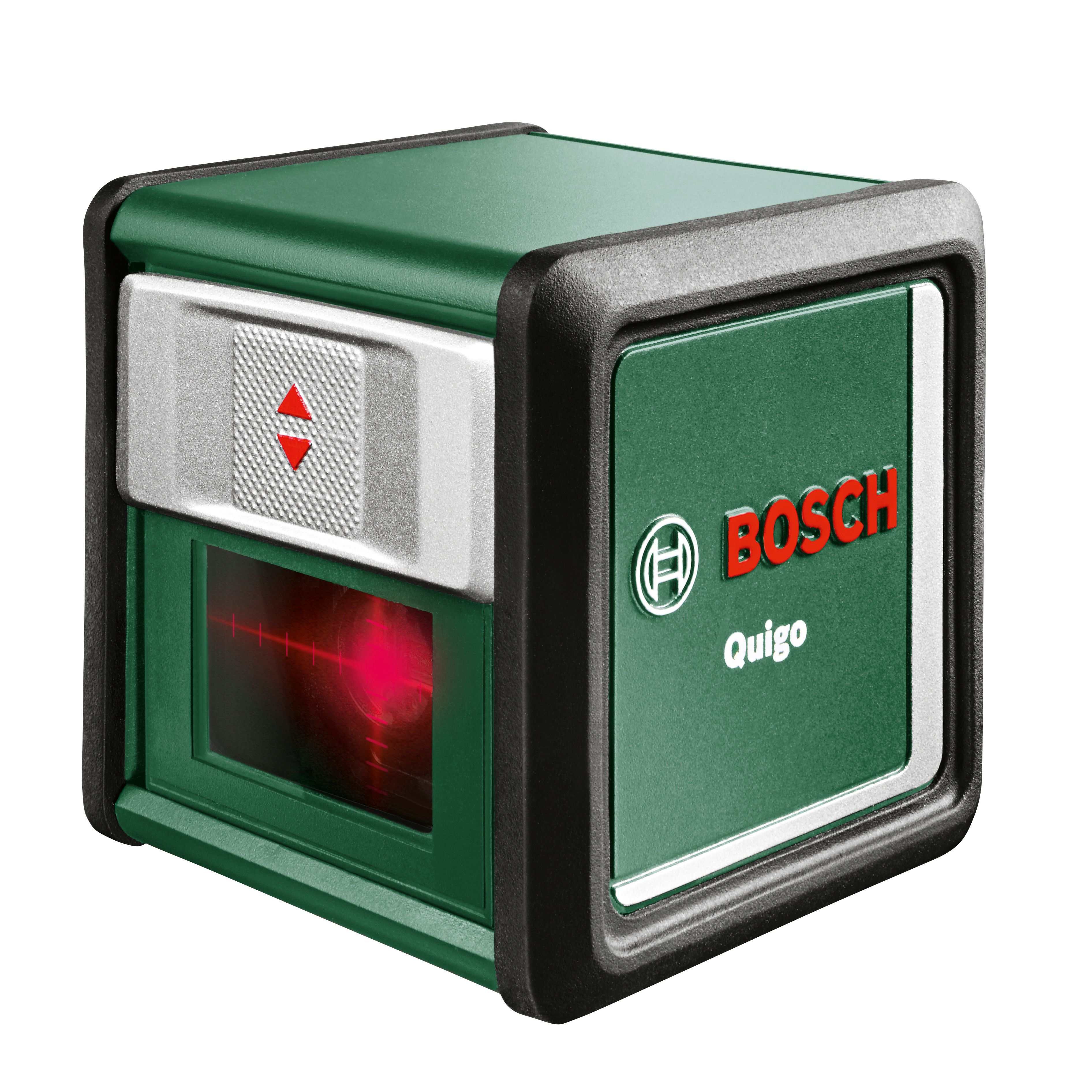 Bosch Quigo 10m Cross Line Laser Level Departments