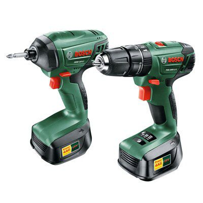 Bosch 2.0ah Li-ion Drill & Driver Twin Pack 2 Batteries