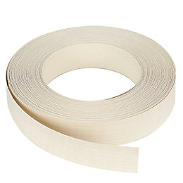 IT Kitchens Maple Effect Worktop Edging Tape (L)10m